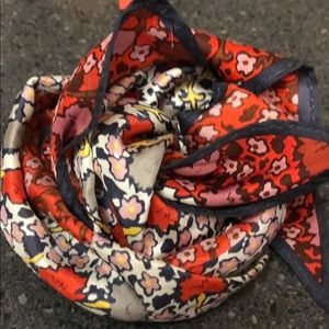 Coach silk scarf